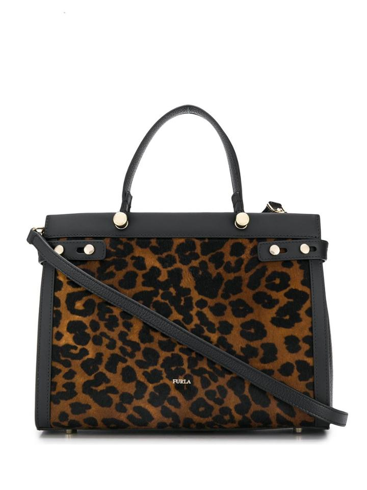 Furla Lady M Medium Tote - Black