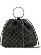 Balmain Studded Bucket Bag - Black
