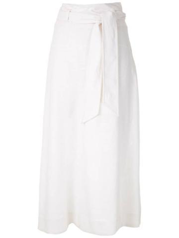 Nk Adrian Midi Skirt - White