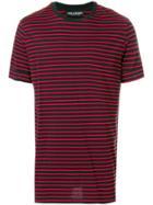 Neil Barrett Striped T-shirt - Black