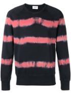 Harmony Paris Striped Sweatshirt, Men's, Size: Large, Black, Cotton
