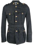 Dsquared2 Military Denim Jacket - Blue