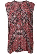 Astraet - Printed Sleeveless Blouse - Women - Polyester - One Size, Polyester