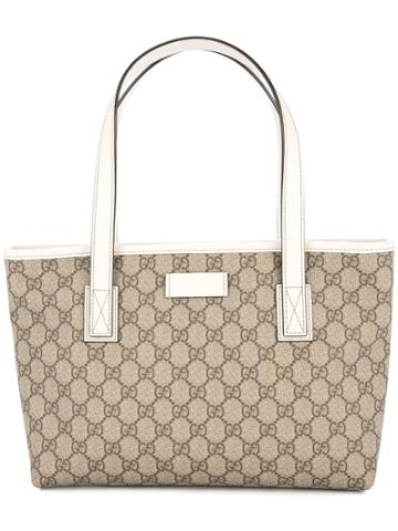 Gucci Vintage Gg Pattern Hand Tote Bag - Neutrals