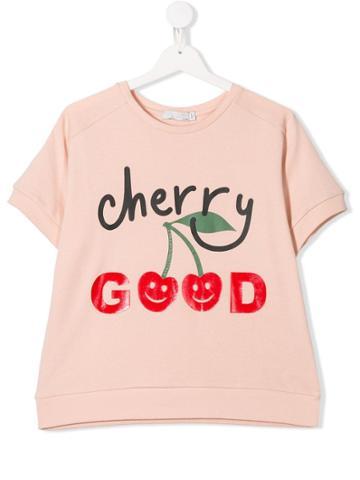Stella Mccartney Kids Teen Cherry Good T-shirt - Pink