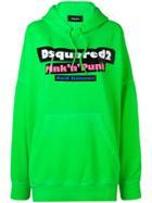 Dsquared2 Pink 'n' Punk Hoodie - Green
