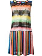 Missoni Sleeveless Panel Dress
