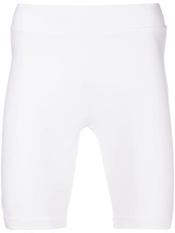 Adidas Biking Shorts - White