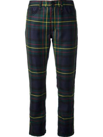 Dondup Tartan Print Trouser