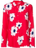 Equipment Floral Print Shirt - Red
