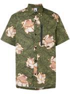Nike Floral Print Shirt - Green