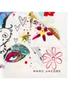 Marc Jacobs Collage Print Scarf