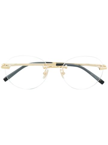 Boucheron Round Glasses - Metallic