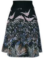 Valentino Landscape Jacquard Skirt