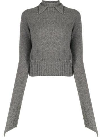 Chanel Pre-owned 2007 Cashmere Jumper - Grey