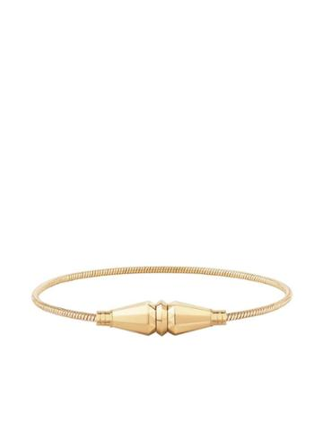 Boucheron 18kt Yellow Gold Jack De Boucheron Single Wrap Bracelet - Yg