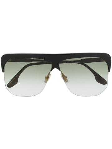 Victoria Beckham Oversized Frame Sunglasses - Brown
