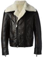 Dsquared2 Shearling Biker Jacket