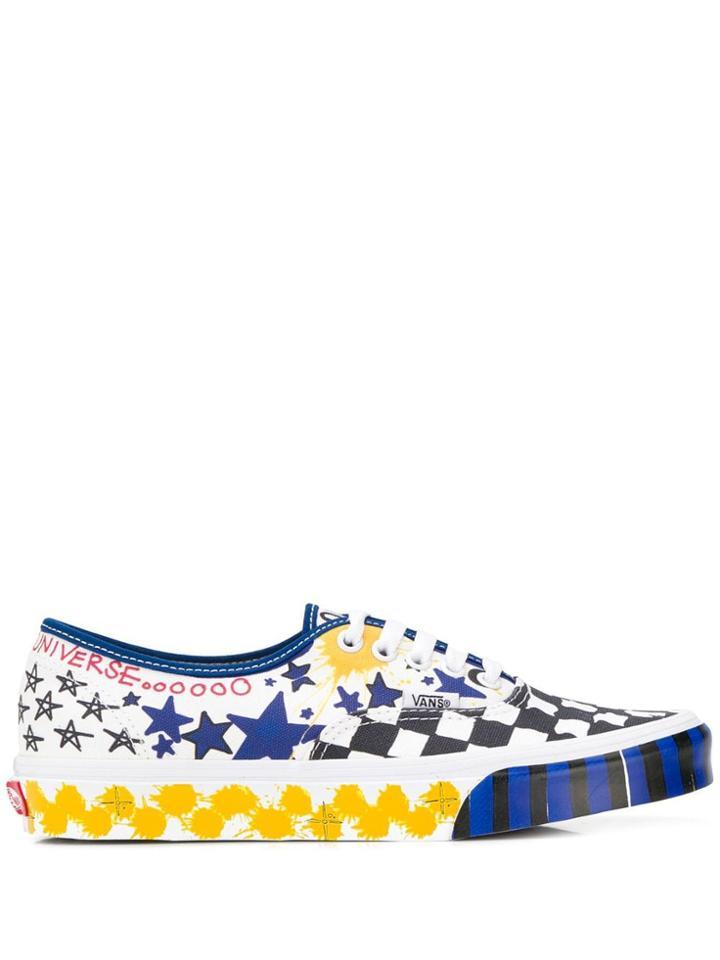 Vans Era Printed Sneakers - White