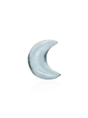Loquet Topaz Moon Charm - Blue