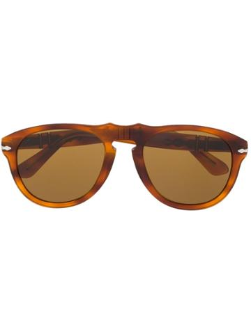Persol Aviator-style Sunglasses - Brown