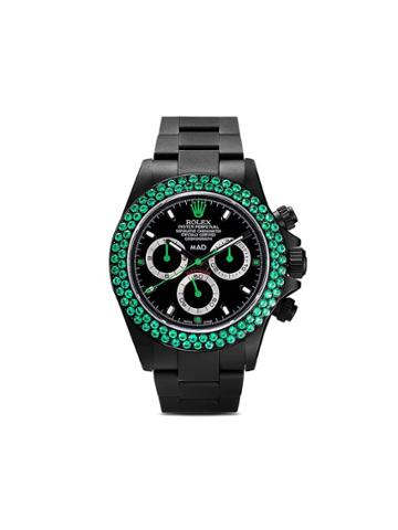 Mad Paris Black Daytona Emerald Watch