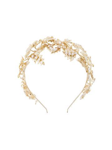 Rosantica Leaf Headband - Metallic