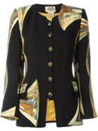 Hermès Vintage Printed Jacket