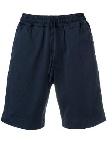 Ymc Elasticated Waist Shorts - Blue