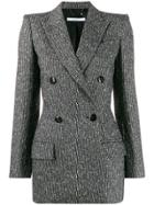 Givenchy Double Breasted Blazer - Black