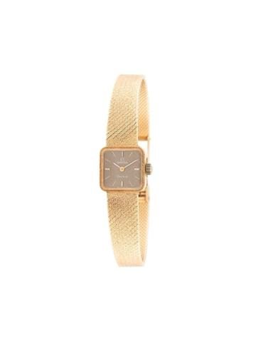 Omega Pre-owned Pre-owned Mini Square Face Watch - Gold