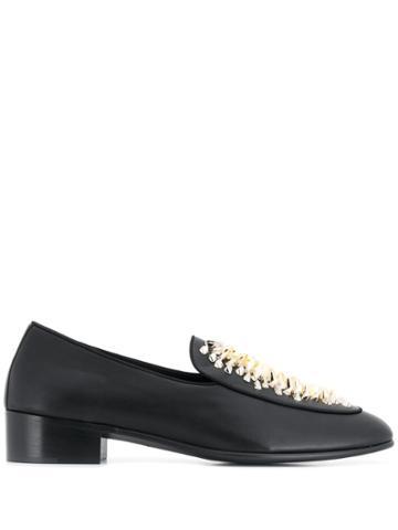 Giuseppe Zanotti Richard Studded Loafers - Black