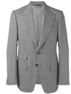 Tom Ford Glen Check Blazer - Black