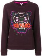 Kenzo Tiger Sweatshirt - Red
