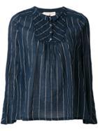 Cotélac Striped Blouse - Blue