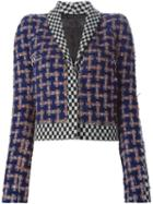 Haider Ackermann Cropped Tweed Jacket