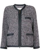 Fabiana Filippi Cropped Tweed Jacket - Green