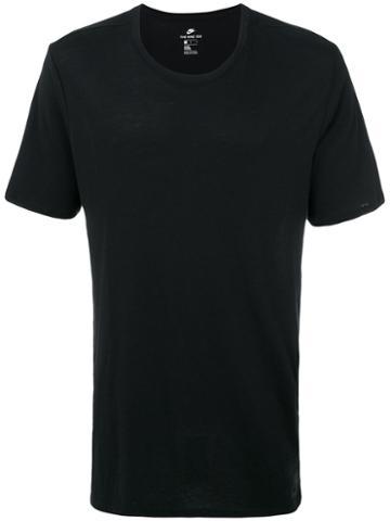 Nike - Nike Sportswear Mesh Back T-shirt - Men - Cotton/polyester/viscose - M, Black, Cotton/polyester/viscose