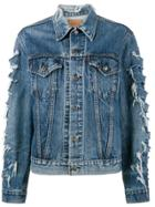 R13 X Levis Repurposed Denim Jacket - Blue