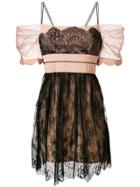 Self-portrait Negligee Lace Dress - Black