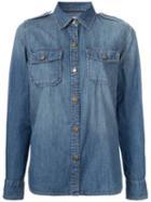 Current/elliott The Perfect Shirt, Women's, Size: 3, Blue, Cotton