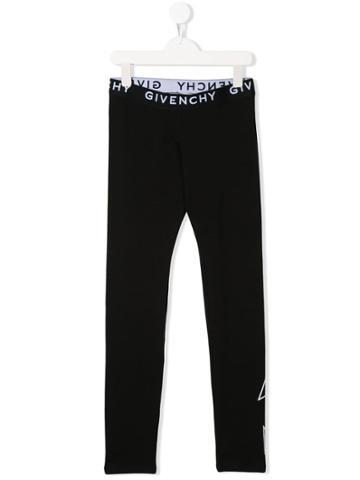 Givenchy Kids Logo Leggings - Black