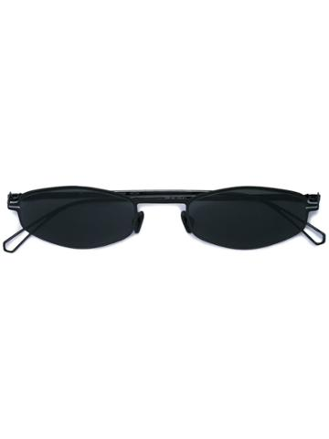 Mykita Oval Frame Sunglasses - Black