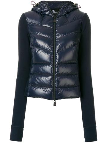 Moncler Grenoble Grenoble Panelled Puffer Jacket - Blue