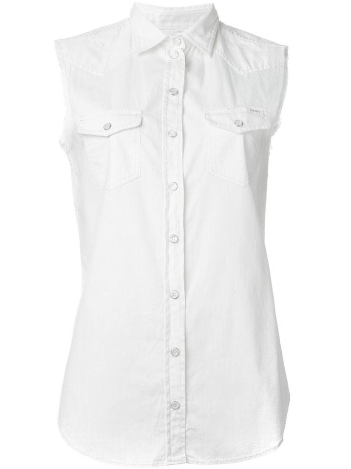 Diesel Sleeveless Denim Shirt