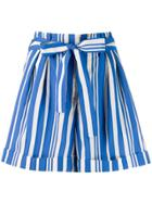 Chinti & Parker Striped Shorts - Blue