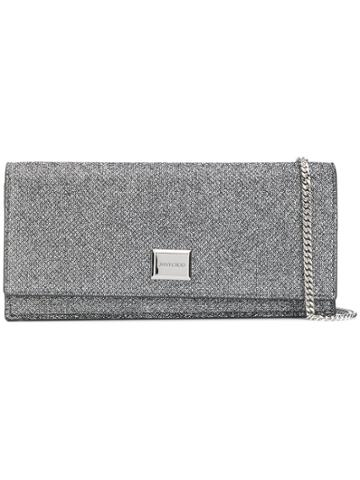 Jimmy Choo Jimmy Choo Lilialag Anthracite Furs & Skins->calf Leather -
