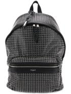 Saint Laurent All-over-studs Backpack - Black