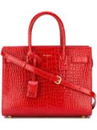 Saint Laurent Small 'sac De Jour' Tote, Women's, Red, Leather
