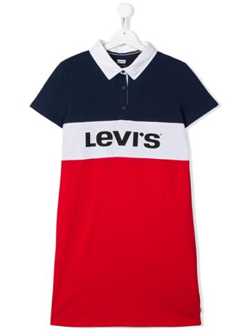 Levi's Kids Levi's Kids Ea101r6w Blue Red Natural (veg)->cotton